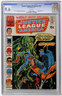 Justice League of America #87 (DC, 1971) CGC NM+ 9.6 White pages