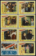 """Movie Posters:Action, Titanic (20th Century Fox, 1953). Lobby Card Set of 8 (11"""" X 14""""). Action. ... (Total: 8 Items)"""