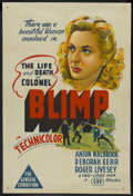 """Movie Posters:Drama, The Life and Death of Colonel Blimp (General Film Distributors, 1943). Australian One Sheet (27"""" X 40""""). Drama. ..."""