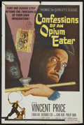 "Movie Posters:Adventure, Confessions of an Opium Eater (Allied Artists, 1962). One Sheet(27"" X 41""). Adventure. ..."