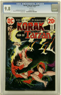 Bronze Age (1970-1979):Miscellaneous, Korak, Son of Tarzan #51 File Copy (DC, 1973) CGC NM/MT 9.8 Whitepages....