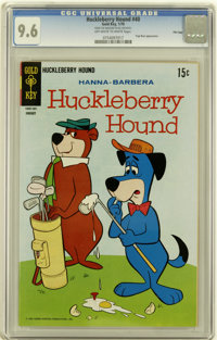 Huckleberry Hound #40 File Copy (Gold Key, 1970) CGC NM+ 9.6 Off-white to white pages