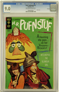 H.R. Pufnstuf #2 File Copy (Gold Key, 1971) CGC VF/NM 9.0 Off-white to white pages
