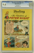 Golden Age (1938-1955):Cartoon Character, Peter Wheat #33 File Copy (Bakers Associates, 1950) CGC NM/MT 9.8Off-white to white pages....