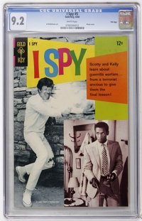 I Spy #5 File Copy (Gold Key, 1968) CGC NM- 9.2 White pages