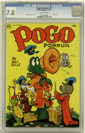 Golden Age (1938-1955):Funny Animal, Pogo Possum #10 (Dell, 1952) CGC FN/VF 7.0 Off-white pages....