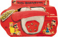 Toys:Miscellaneous, The Flintstones Dial Telephone Toy in Package (Empire, early1960s)....