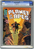 Magazines:Science-Fiction, Planet of the Apes #5 (Marvel, 1975) CGC NM+ 9.6 Off-white to whitepages....