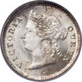 Hong Kong:British Colony, Hong Kong: British Colony. Victoria 5 Cents 1883-H MS67 PCGS,...