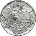 China:People's Republic of China, China: People's Republic silver Proof Panda Medal ND (1991) PR69 NGC,...