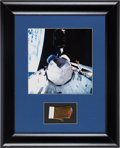 Explorers:Space Exploration, Space Shuttle Columbia Flown Thermal Blanket Section inFramed Display....