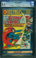 Bronze Age (1970-1979):Superhero, Action Comics #443 (DC, 1975) CGC VF+ 8.5 Off-white to white pages.