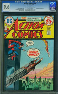 Bronze Age (1970-1979):Superhero, Action Comics #436 (DC, 1974) CGC NM+ 9.6 Off-white to white pages.