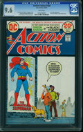 Bronze Age (1970-1979):Superhero, Action Comics #428 (DC, 1973) CGC NM+ 9.6 White pages.
