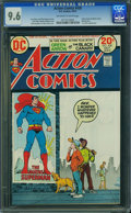 Bronze Age (1970-1979):Superhero, Action Comics #428 (DC, 1973) CGC NM+ 9.6 Off-white to white pages.
