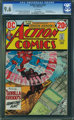 Action Comics #424 (DC, 1973) CGC NM+ 9.6 White pages