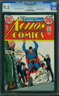 Bronze Age (1970-1979):Superhero, Action Comics #423 (DC, 1973) CGC NM- 9.2 White pages.