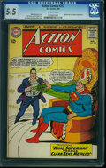 Silver Age (1956-1969):Superhero, Action Comics #312 (DC, 1964) CGC FN- 5.5 Off-white pages.