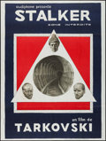 "Movie Posters:Science Fiction, Stalker (Audiphone, 1980). French Grande (47"" X 63""). ScienceFiction.. ..."