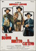 "Movie Posters:Western, The Good, the Bad and the Ugly (Titanus, R-1972). Italian 2 - Fogli (39.5"" X 55""). Western.. ..."