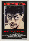 "Movie Posters:Drama, Raging Bull (United Artists, 1981). Italian 2 - Fogli (39"" X 55""). Drama.. ..."