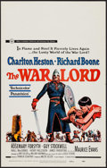 "Movie Posters:War, The War Lord & Others Lot (Universal, 1965). Window Cards (3)(14"" X 22""). War.. ... (Total: 3 Items)"