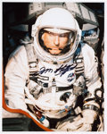 Autographs:Celebrities, Tom Stafford Signed Gemini 9A Color Photo. ...