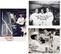 Autographs:Celebrities, Guenter Wendt Signed Photos (Three). ... (Total: 3 Items)