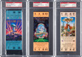 Football Collectibles:Tickets, 1993-96 Super Bowl PSA Gem Mint 10 Full Tickets Lot of 3 - Cowboys Championships. ...