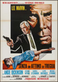 "Movie Posters:Crime, Point Blank (MGM, 1968). Italian 2 - Fogli (39.25"" X 55""). Crime....."