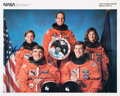 Autographs:Celebrities, Space Shuttle Columbia (STS-32) Crew-Signed Color Photo:Brandenstein, Wetherbee, Ivins, Low, and Dunbar....