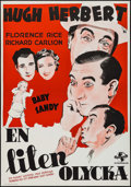 """Movie Posters:Comedy, Little Accident (Universal, 1939). Swedish One Sheet (27.5"""" X 39.5""""). Comedy.. ..."""
