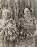 Photographs:Gelatin Silver, Arthur Rothstein (American, 1915-1985). Farmer and Wife, Colorado, 1939. Gelatin silver, printed later. 9-1/4 x 7-3/8 in...