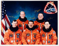 Autographs:Celebrities, Space Shuttle Discovery (STS-48) Crew-Signed Color Photo:Brown, Creighton, Reightler, Gemar, and Buchli....