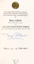 Autographs:Celebrities, Buzz Aldrin Signed Limited Edition Book (#207/1500): EncounterWith Tiber. ...