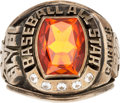 Baseball Collectibles:Others, 1979 Gary Carter All-Star Game Ring from The Gary CarterCollection....