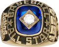 Baseball Collectibles:Others, 1984 Gary Carter All-Star Game Ring from The Gary CarterCollection....