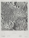 Explorers:Space Exploration, Charlie Duke Signed Large Lunar Photo Map....
