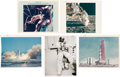 "Explorers:Space Exploration, NASA Original Glossy Photos (Five), Three of the ""Red Number""Variety. ... (Total: 5 Items)"