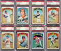 Baseball Cards:Sets, 1972 Topps Baseball Mid to High Grade Complete Set (787). ...