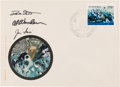 Autographs:Celebrities, Apollo 15 Crew-Signed Polish First Day Cover....