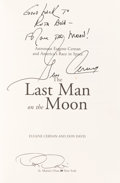 Autographs:Celebrities, Gene Cernan Signed Book: The Last Man on the Moon....