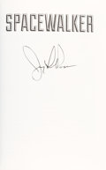 Autographs:Celebrities, Jerry Ross Signed Book: Spacewalker. ...