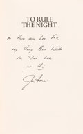 Autographs:Celebrities, Jim Irwin Signed Book: To Rule The Night. ...