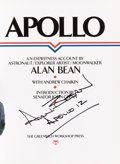 Autographs:Celebrities, Alan Bean Signed Book: Apollo. ...