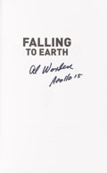 Autographs:Celebrities, Al Worden Signed Book: Falling To Earth....