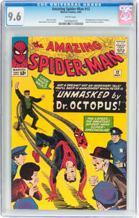 The Amazing Spider-Man #12 (Marvel, 1964) CGC NM+ 9.6 White pages