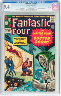 Silver Age (1956-1969):Superhero, Fantastic Four #23 Twin Cities Pedigree (Marvel, 1964) CGC NM 9.4 Off-white to white pages....