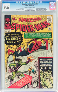 The Amazing Spider-Man #14 (Marvel, 1964) CGC NM+ 9.6 Cream to off-white pages