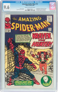 Silver Age (1956-1969):Superhero, The Amazing Spider-Man #15 (Marvel, 1964) CGC NM+ 9.6 Cream tooff-white pages....